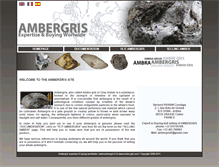 Tablet Preview of ambergris.fr